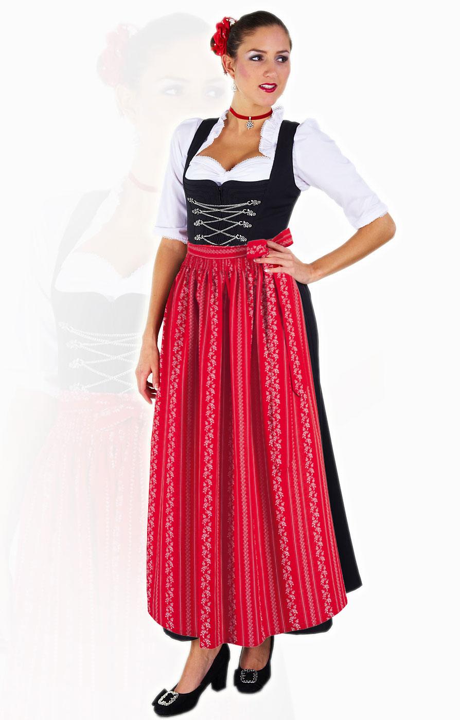 Floor Length Dirndl Dress