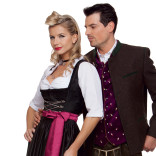 Bavarian wedding outfits