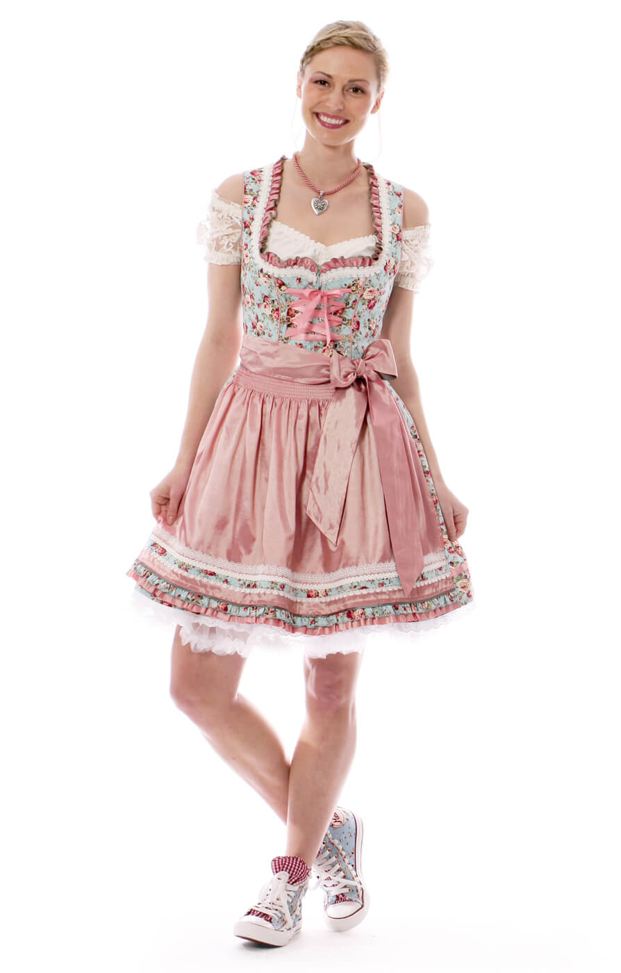 Bavarian styles for hot summer days - Oktoberfest Dirndl ...