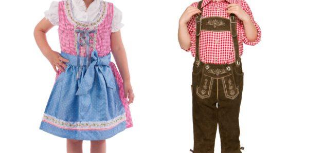 Lederhosen and dirndls for children