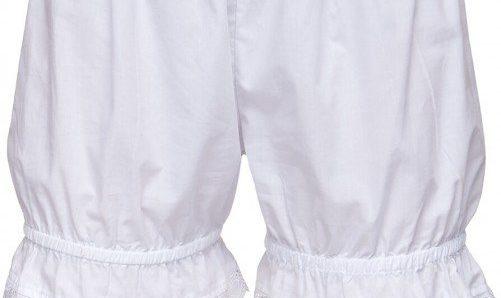 Underwear for dirndls and lederhosen